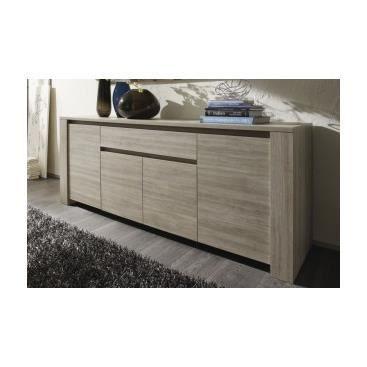 meuble buffet bahut design en ch ne cendr di achat. Black Bedroom Furniture Sets. Home Design Ideas