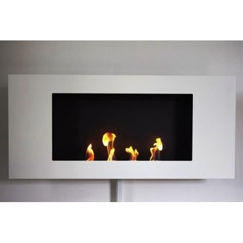 chemin e valencia xl blanc gel bio thanol achat vente chemin e valencia xl blanc cdiscount. Black Bedroom Furniture Sets. Home Design Ideas