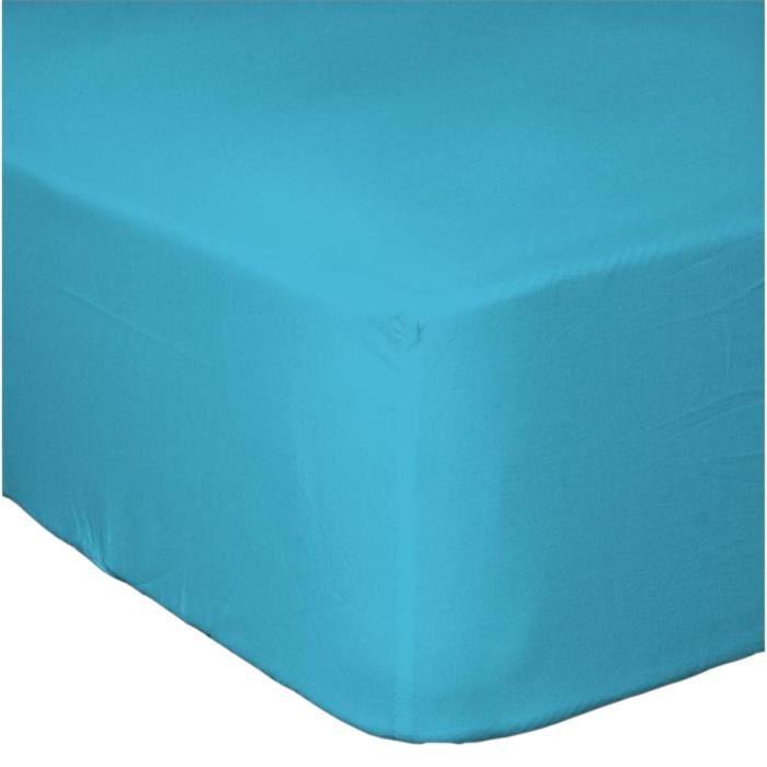drap housse grand bonnet 90x190 cm achat vente drap housse soldes cdiscount. Black Bedroom Furniture Sets. Home Design Ideas