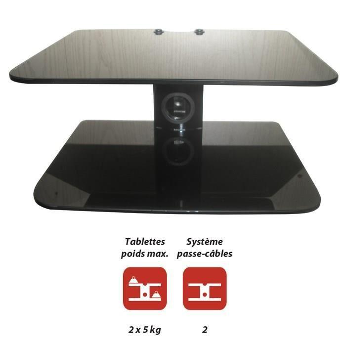 Inotek dvtab 102 tablette murale p riph rique audio vid o - Tablette murale pour tv ...