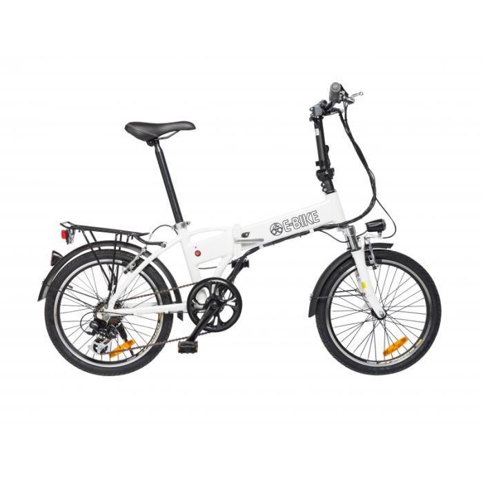 V lo lectrique pliant e bike strada prix pas cher soldes cdiscount - Velo electrique pliant pas cher ...