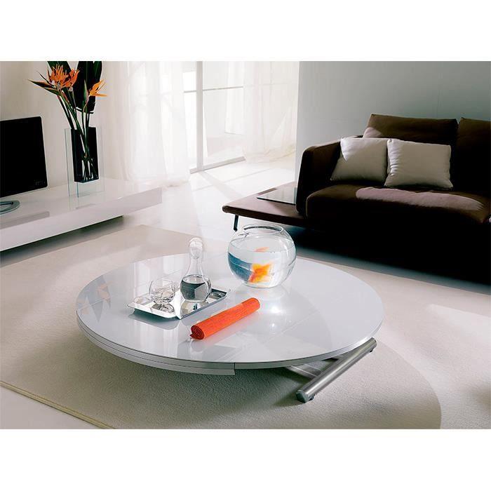 table basse relevable rondo. Black Bedroom Furniture Sets. Home Design Ideas