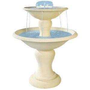 fontaine de jardin en pierre achat vente fontaine de jardin en pierre pas cher cdiscount. Black Bedroom Furniture Sets. Home Design Ideas