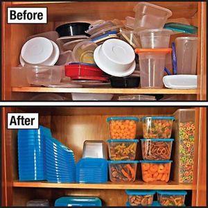 boite de rangement alimentaire achat vente boite de rangement alimentaire pas cher cdiscount. Black Bedroom Furniture Sets. Home Design Ideas