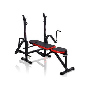 BANC DE MUSCULATION DKN Multi Banc Décliné-Incliné à Charge Additionne