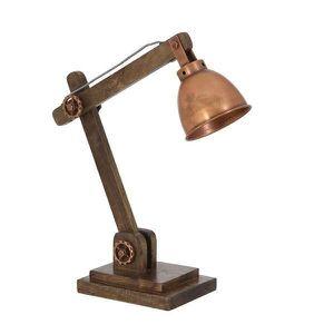 Lampe a poser cuivre achat vente lampe a poser cuivre pas cher soldes - Lampe de bureau originale ...