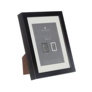 cadre photo 18 24 noir achat vente cadre photo 18 24 noir pas cher les soldes sur. Black Bedroom Furniture Sets. Home Design Ideas