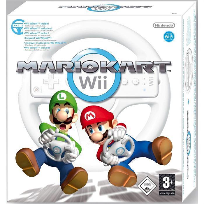 Mario kart wii volant inclus jeu et accessoire achat - Mario kart wii personnages et vehicules ...