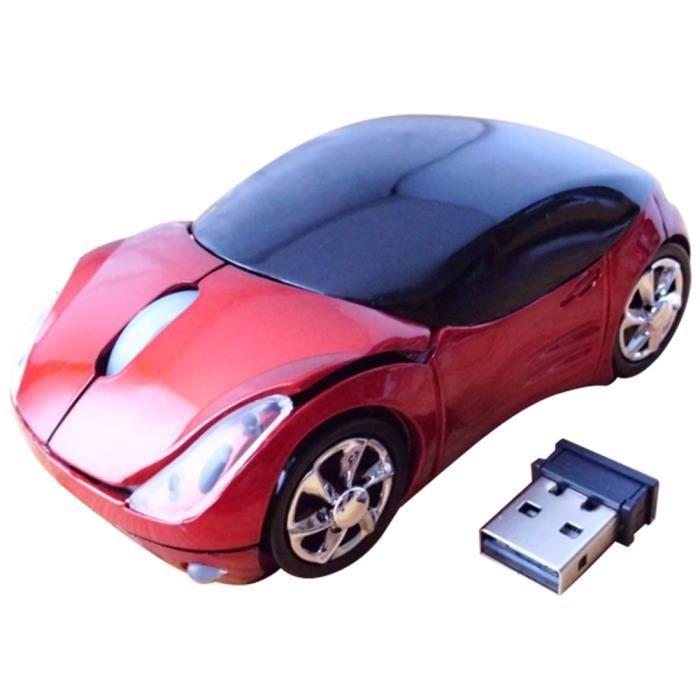 usb 2 4 ghz optique voiture souris sans fil pour pc portable macbook rouge prix pas cher. Black Bedroom Furniture Sets. Home Design Ideas