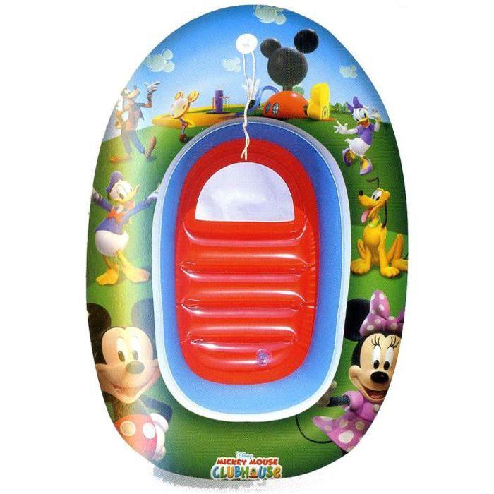 Bateau gonflable enfant mickey achat vente jeux de for Piscine enfant 3 ans