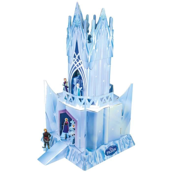 la reine des neiges ch teau de glace construire avec personnages achat vente assemblage. Black Bedroom Furniture Sets. Home Design Ideas