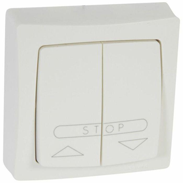 double bouton pouss saillie complet volet roulant achat vente composant tableau cdiscount. Black Bedroom Furniture Sets. Home Design Ideas