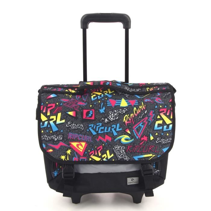 rip curl cartable roulettes neon vibes wh cartable bbpfg4 rose achat vente sac dos. Black Bedroom Furniture Sets. Home Design Ideas