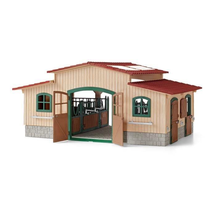 schleich centre equestre sans accessoires achat vente. Black Bedroom Furniture Sets. Home Design Ideas