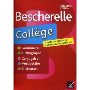 LIVRE COLLÈGE Bescherelle collège