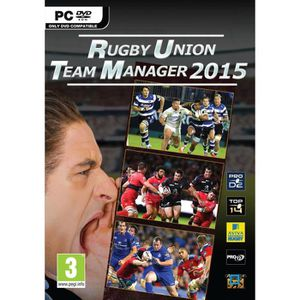 JEU PC RUGBY UNION TEAM MANAGER 2015 PC