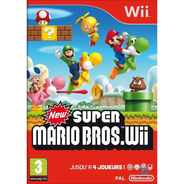 JEUX WII NEW SUPER MARIO BROS / JEU CONSOLE NINTENDO Wii