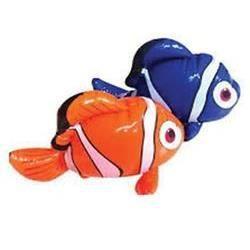Poisson clown gonflable bleu 35 cm achat vente jeux de for Poisson clown achat