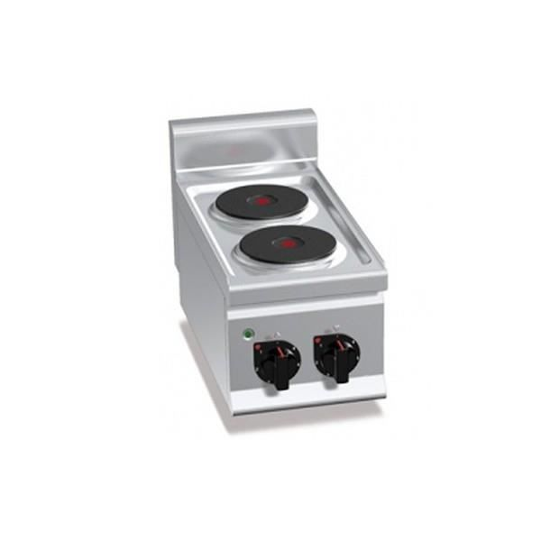 Fourneau lectrique professionnel 100 acier inox 2 for Achat plaque inox