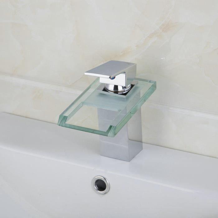 bassin robinet d 39 vier cascade salle de cuivre en verre. Black Bedroom Furniture Sets. Home Design Ideas