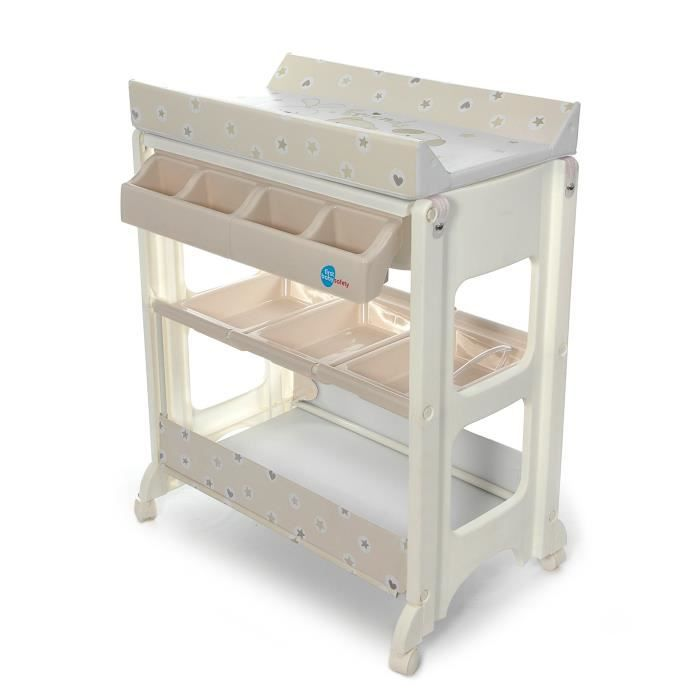 Firts baby safety table langer baignoire motifs petits - Table a langer bebe ...