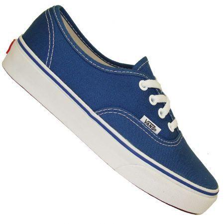 vans bleu homme