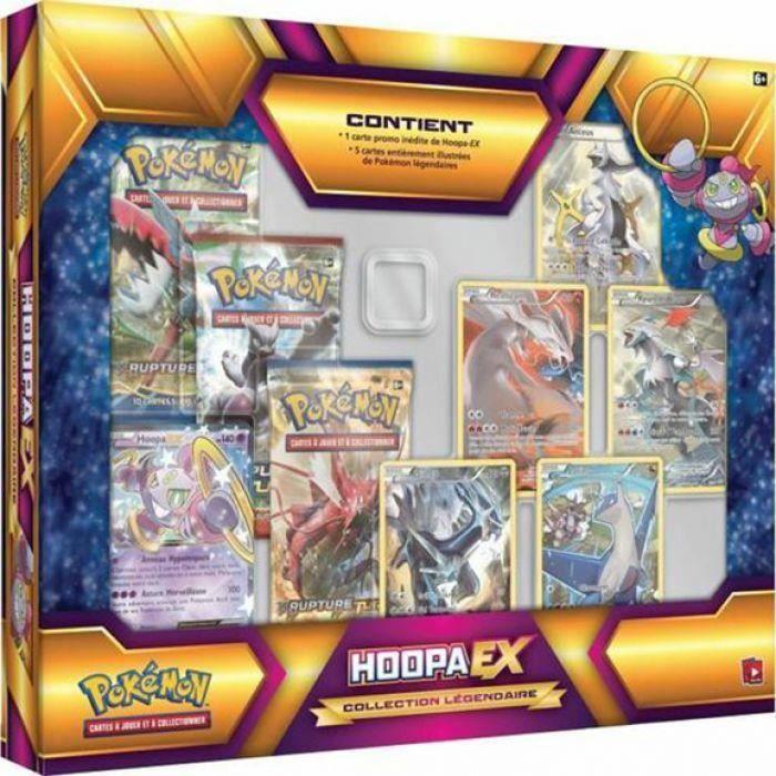 Coffret pokemon hoopa ex collection legendaire achat vente carte a collectionner cdiscount - Photo de pokemon legendaire ...