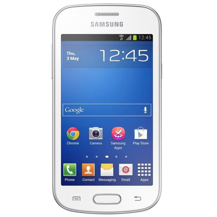 Samsung galaxy trend lite blanc achat smartphone pas - Portable samsung galaxy trend lite blanc ...