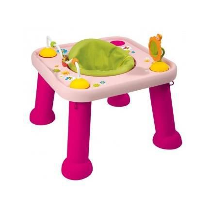 Youpi baby cotoons rose smoby 211310 joue achat - Ma table d eveil parlante 2 en 1 ...