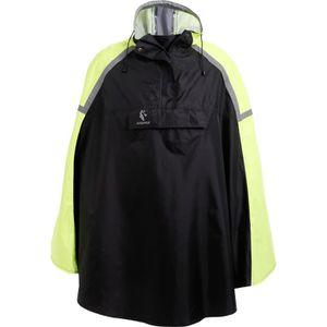 SCRAPPER Poncho vélo - Protection pluie - Noir / Jaune