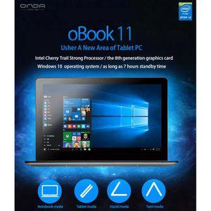 TABLETTE TACTILE Onda 11,6 pouces de Windows 10 Ultrabook 360 Écran