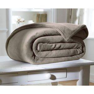 couverture pour lit 2 personne achat vente couverture pour lit 2 personne pas cher cdiscount. Black Bedroom Furniture Sets. Home Design Ideas