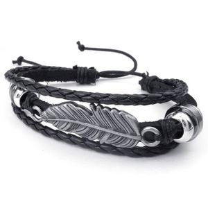 bracelet plumes achat vente pas cher cdiscount. Black Bedroom Furniture Sets. Home Design Ideas