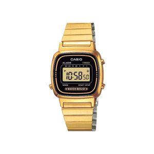 MONTRE Montre Casio Classic Noir Gold Femme LA670WEGA-1EF