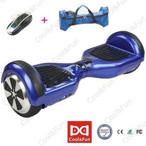 HOVERBOARD COOL&FUN Hoverboard électrique 6.5 pouces Bleu