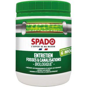 Traitement anti-odeurs et bouchons Spado Pot 500g