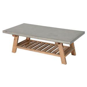 Table Basse En Beton Achat Vente Table Basse En Beton Pas Cher Soldes Cdiscount