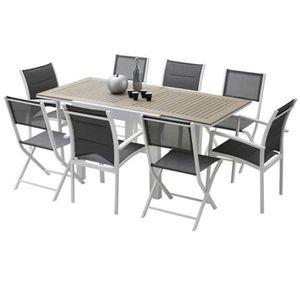 4 chaise pliante aluminium - achat / vente 4 chaise pliante ... - Chaise De Jardin Pliante Aluminium