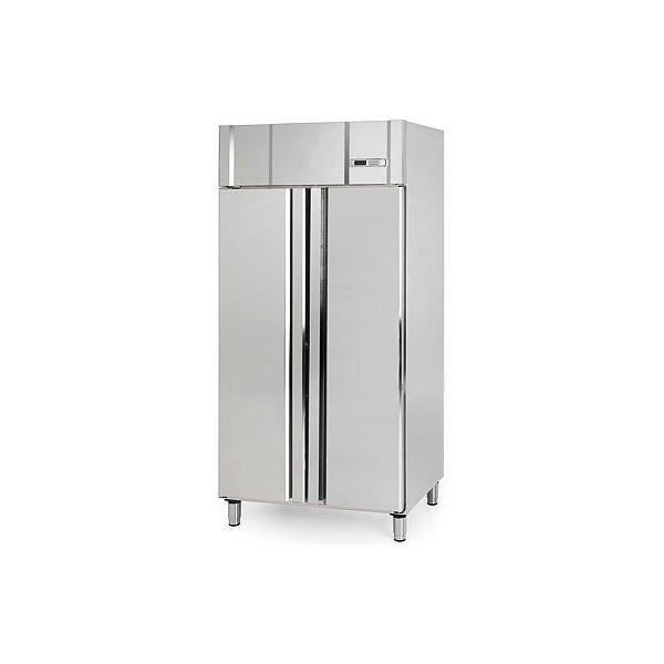 cong lateur professionnel 745 litres 100 acier inox avec 2 portes pleines 1 c 18 c. Black Bedroom Furniture Sets. Home Design Ideas