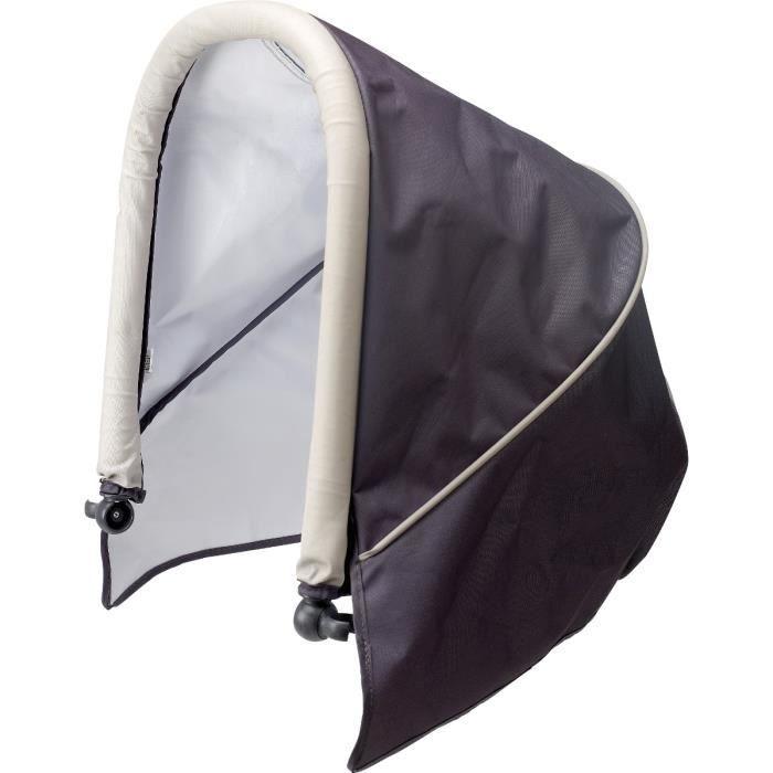 beaba canopy pour transat gris rock gris rock achat vente transat balancelle 3384349150105