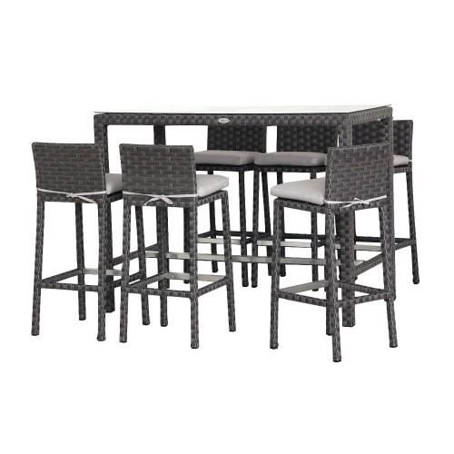 ensemble repas ou bar providence table 6 tab achat. Black Bedroom Furniture Sets. Home Design Ideas
