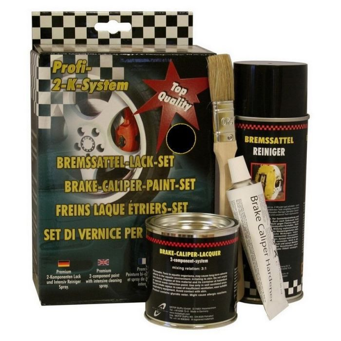 kit peinture pour trier de freins noir achat vente peinture auto kit peint trier de freins. Black Bedroom Furniture Sets. Home Design Ideas