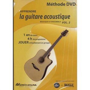 dvd pour apprendre la guitare pas cher achat vente les soldes sur cdiscount cdiscount. Black Bedroom Furniture Sets. Home Design Ideas