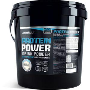 PROTÉINE Protein Power 4kg FRAISE-BANANE Biotech USA Protei