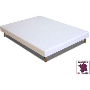sommier tapissier 120 x 190 achat vente sommier tapissier 120 x 190 pas cher cdiscount. Black Bedroom Furniture Sets. Home Design Ideas