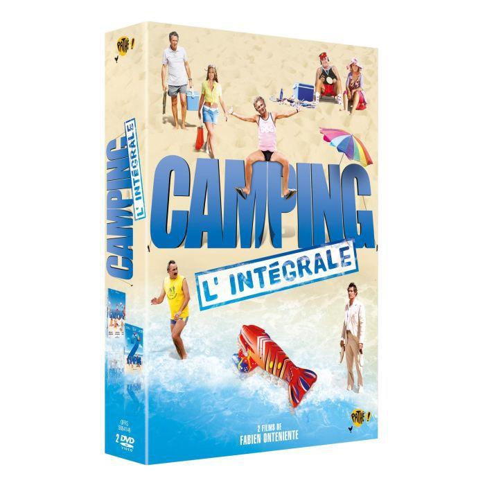 dvd action aventure guerre coffret camping  et f