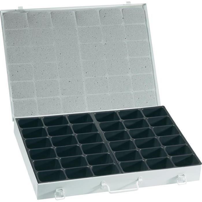 bo te rangement en acier avec 36 compartiments achat vente boite a compartiment acier. Black Bedroom Furniture Sets. Home Design Ideas