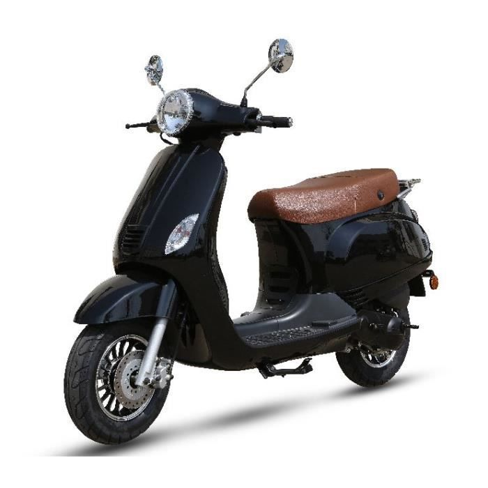 scooter 50cc 4t torino50 noir achat vente scooter. Black Bedroom Furniture Sets. Home Design Ideas