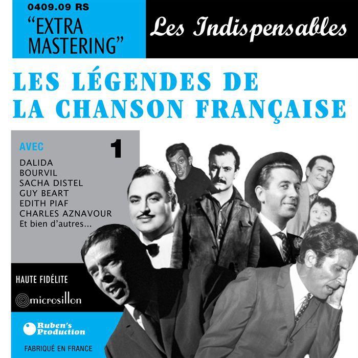 Légendes De La Chanson Française 1
