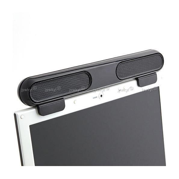 enceintes clip on haut parleurs usb pour ecran enceintes prix pas cher cdiscount. Black Bedroom Furniture Sets. Home Design Ideas